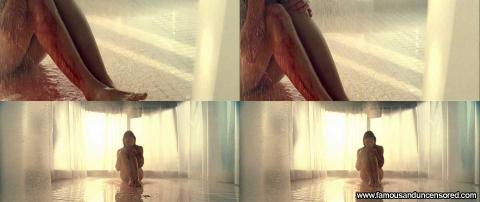 Jessica Biel Nude Sexy Scene Blade Trinity Shower Legs Cute