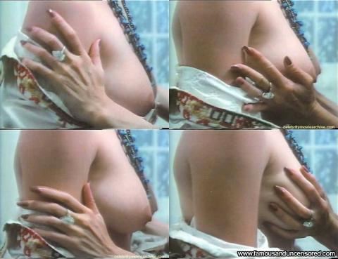 Catherine Bach Nude Sexy Scene Crazed Close Up Topless Car