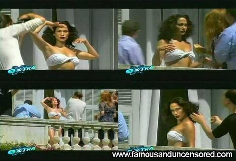 Jennifer Lopez Extra Fashion Balcony Photoshoot Bikini Sexy