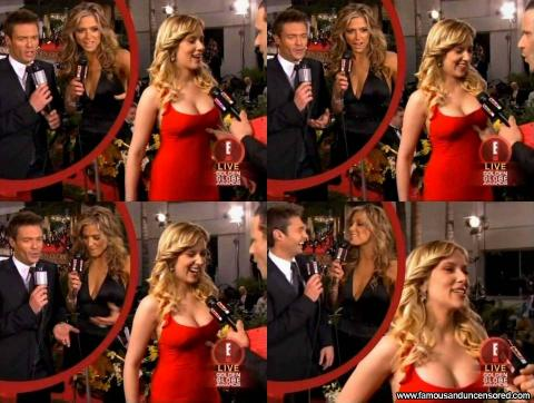 Scarlett Johansson Nude Sexy Scene Red Carpet Interview Nice