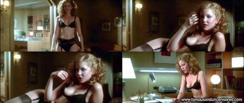 Nancy Allen Nude Sexy Scene Dressed To Kill Office Desk Doll