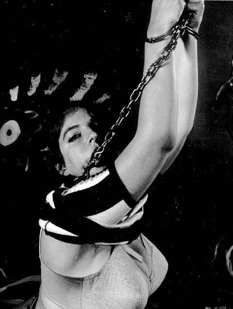 Arminda Tied Up Horror Retro Humiliation Bondage Torture Hot
