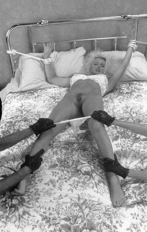 Justina Humiliation Horror Retro Tied Up Bizarre Bondage Hot