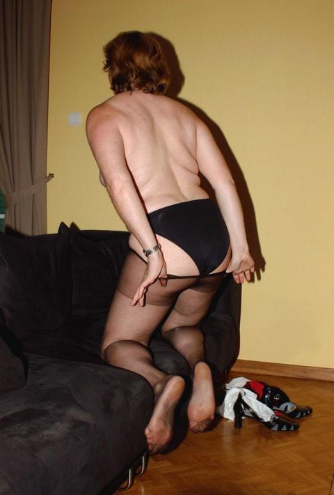 Amateur pantyhose fetish