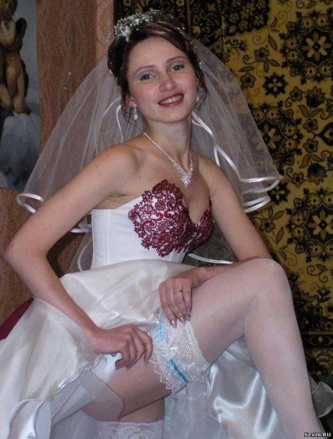 Kathlene Bride Wedding Night Wedding Happy Lingerie Naughty