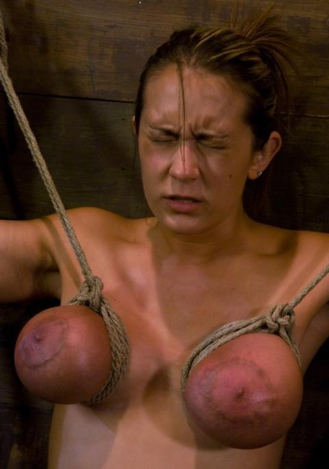 Moriah Suffering Tit Torture Extreme Pain Bondage Torture