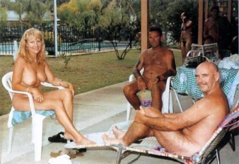 orgy slut Nude beach