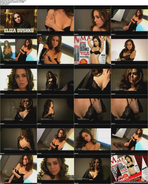 Eliza Dushku Nude Sexy Scene See Through Photoshoot Nice Bra