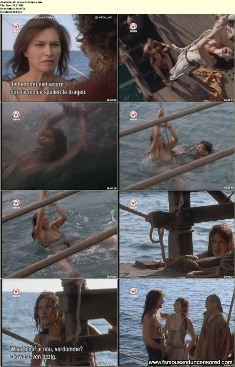 Karina Lombard Nude Sexy Scene Tied Up Wet Gorgeous Actress