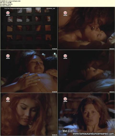 Karina Lombard Nude Sexy Scene Bed Nude Scene Famous Actress