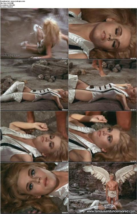 Jane Fonda Nude Sexy Scene Barbarella Long Legs Legs Actress