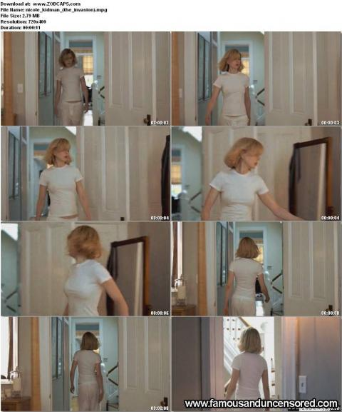 Nicole Kidman See Through Shirt Thong Bra Australian Hd Doll