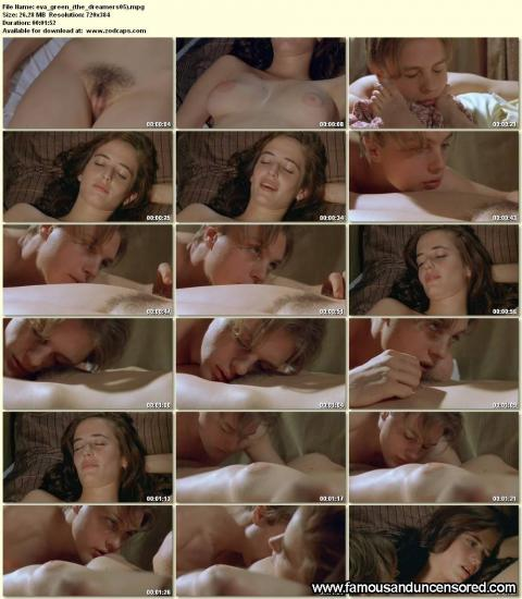 Eva Green Nude Sexy Scene The Dreamers Bus Pussy Beautiful