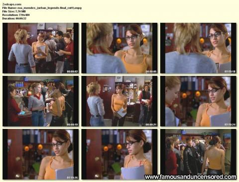 Eva Mendes Nude Sexy Scene Urban Legends Final Cut Nice Hat