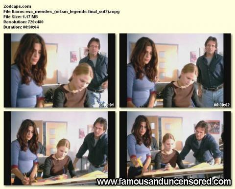 Eva Mendes Urban Legends Final Cut Puffy Nipples Nude Scene