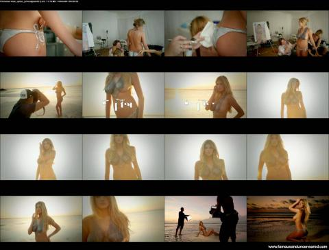 Kate Upton Nude Sexy Scene Pain Photoshoot Beach Bar Famous