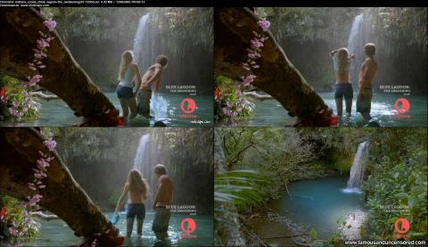 Naked scene blue lagoon