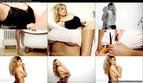Kate Upton Nude Sexy Scene Photoshoot Topless Actress Female