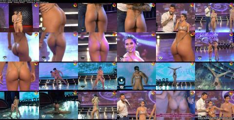 Cinthia Fernandez Nude Sexy Scene Gymnast Gym Posing Hot Hd
