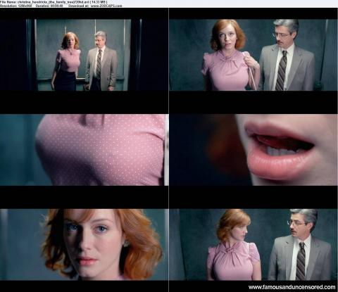 Christina Hendricks Nude Sexy Scene Busty Bus Nude Scene Hd