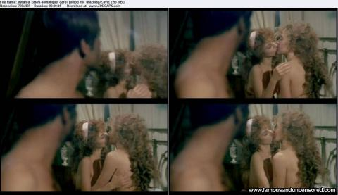 Stefania Casini Nude Sexy Scene Sister Kissing Lesbian Babe