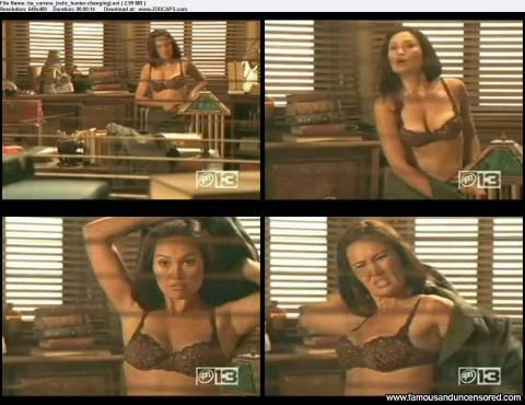Tia Carrere Office Bra Posing Hot Gorgeous Sexy Famous Doll