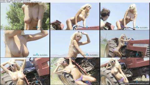 Rhian Sugden Busty Bus Blonde Beautiful Doll Famous Sexy Hd