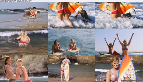 Sasha Jackson Nude Sexy Scene Blue Crush 2 Wet Bikini Famous
