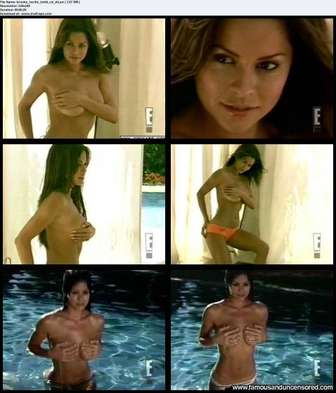 Brooke Burke Nude Sexy Scene Wild On Couple Photoshoot Cute