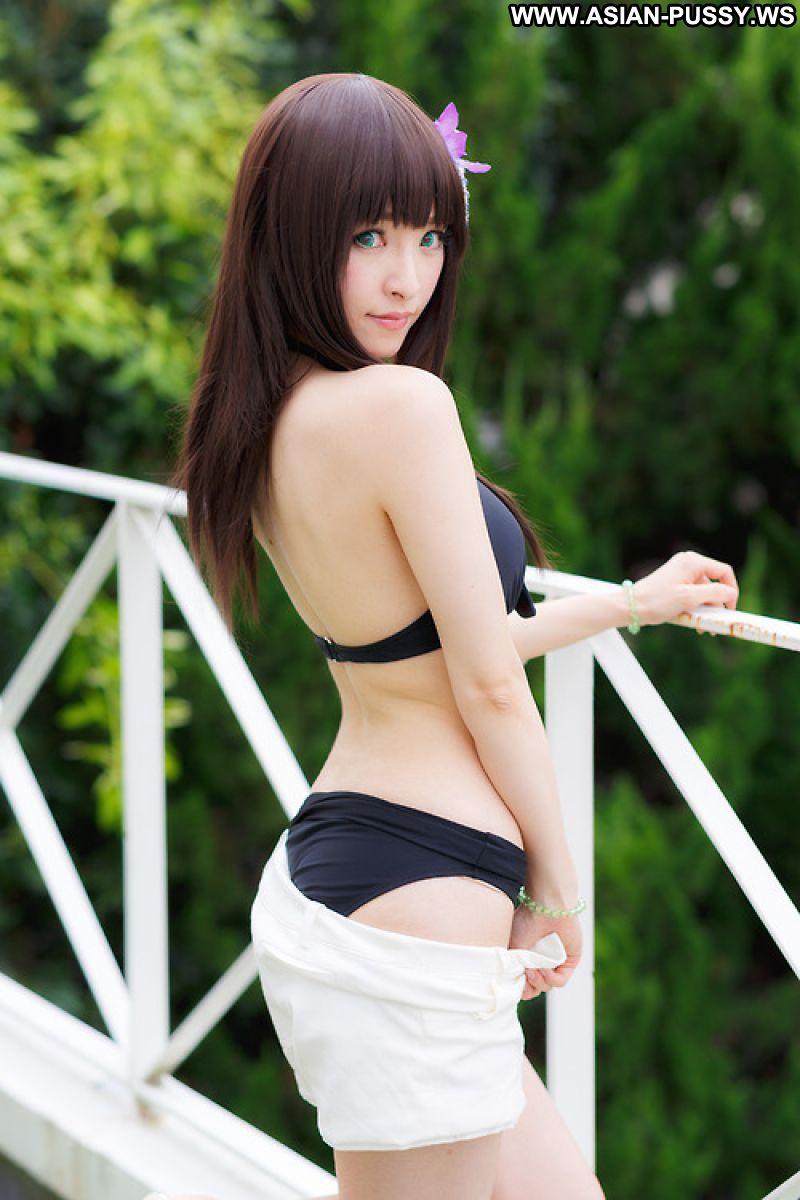 Ryo Asian Sexy Model Babe Beautiful Bikini Big Tits