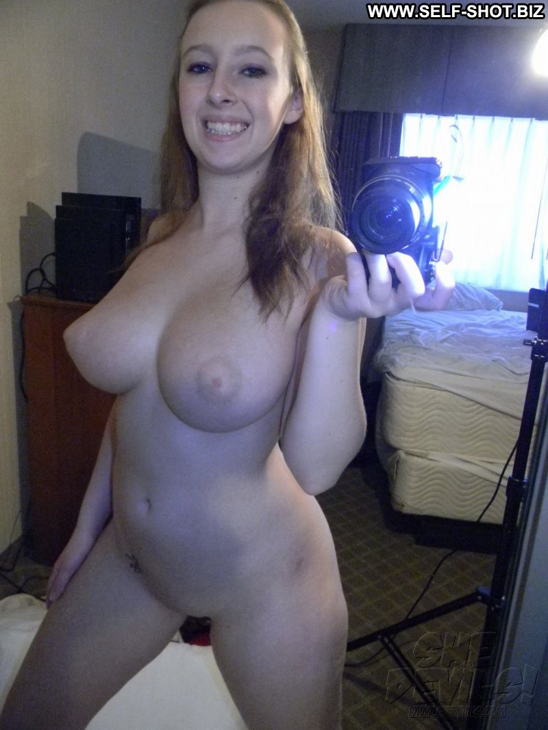 college naked self shot ass