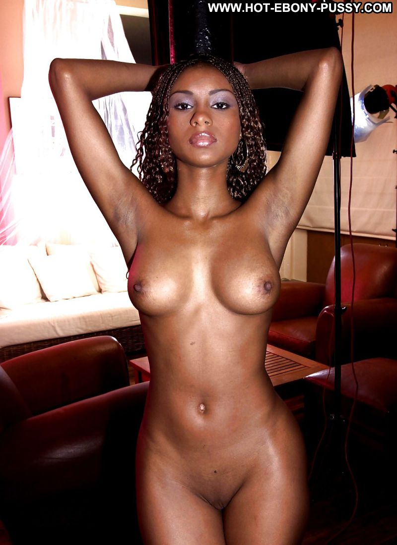 image Horny ebony beauty is stripped down eaten out and fucked