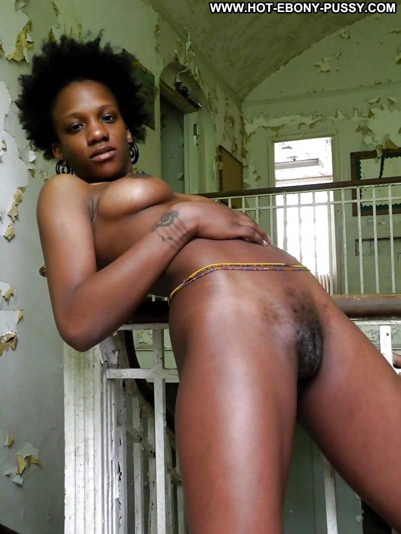 ebony Sexy hairy