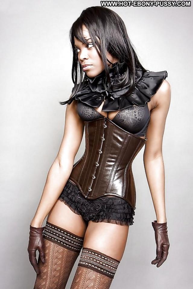Several Models Lingerie Model Posing Hot Very Horny Ebony