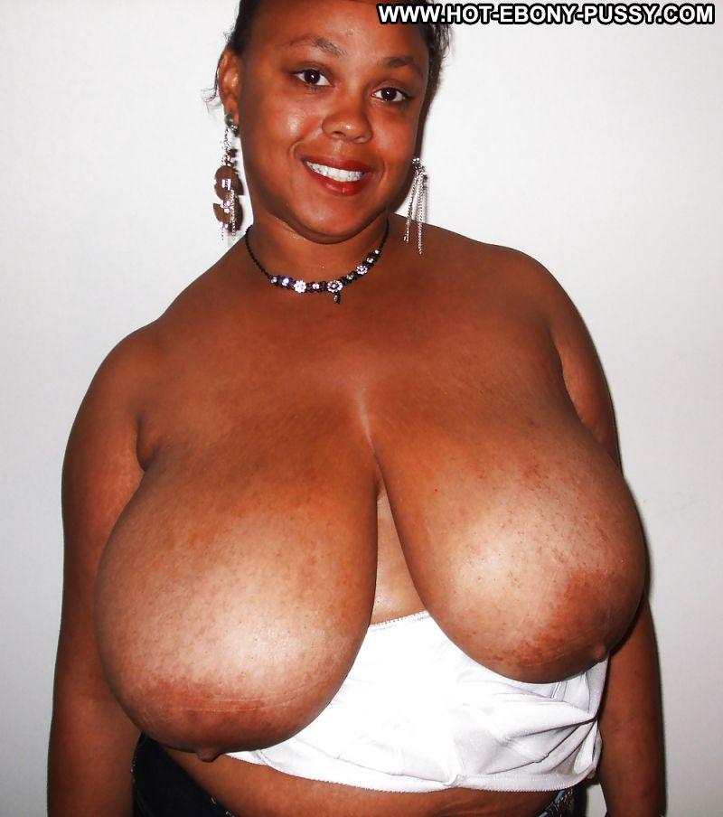 Enormous black tits