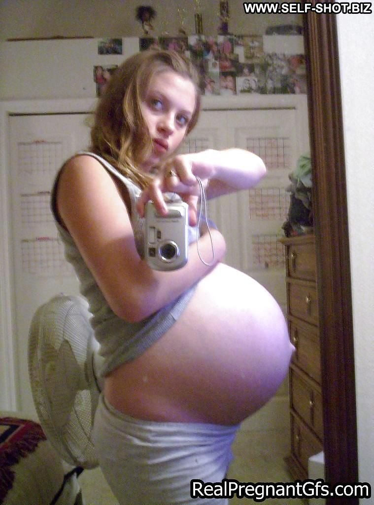 Devin Self Shot Sexy Amateur Pregnant Girlfriend Selfie Babe Doll Blonde