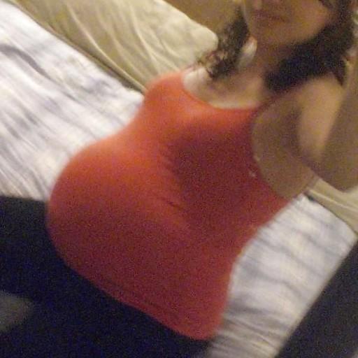 More pregnant teen self shot good