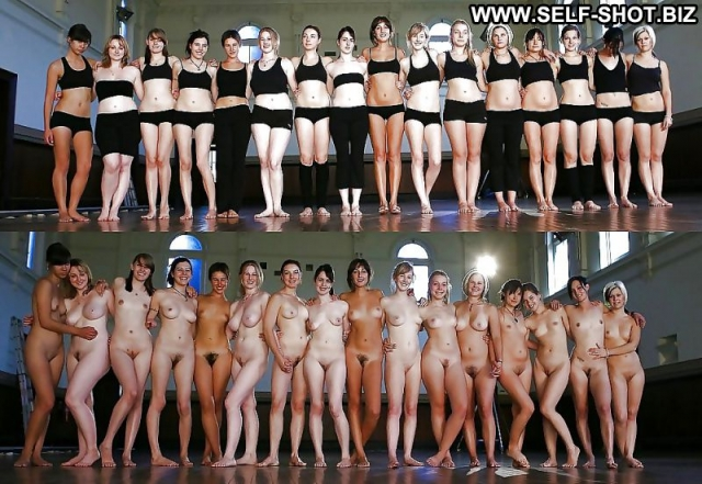 Several Amateurs Nude Softcore Dressed And Undressed