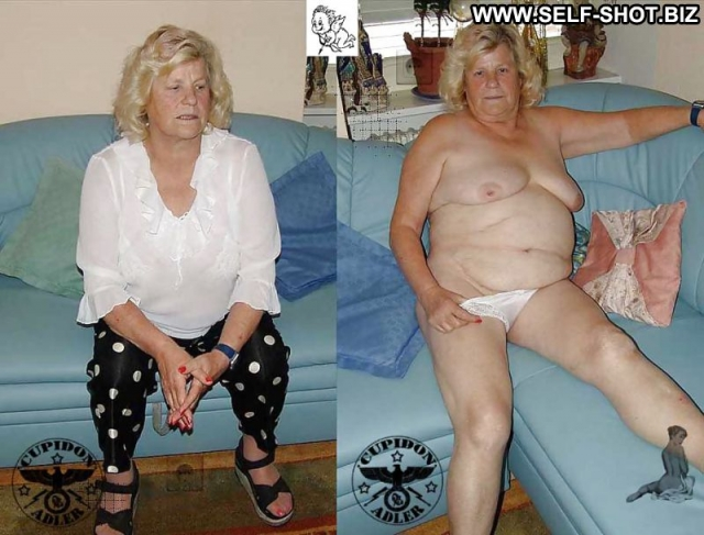 Several Amateurs Granny Nude Dressed And Undressed Softcore