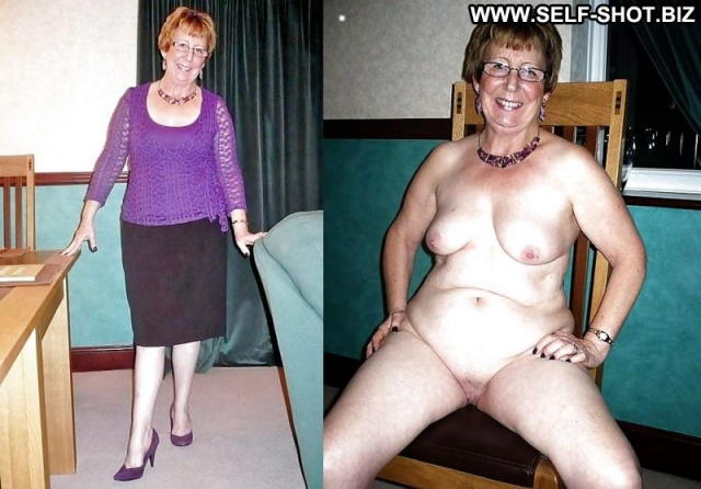 Several Amateurs Granny Softcore Dressed And Undressed Nude