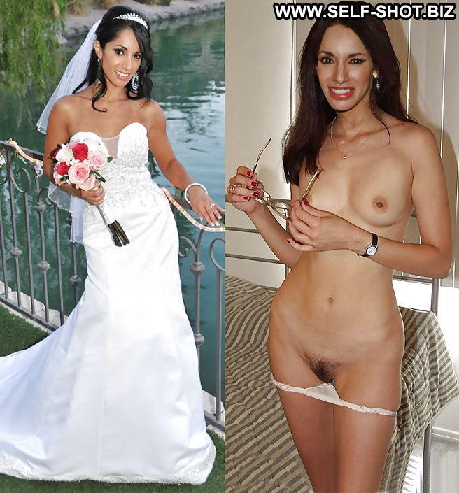 Think Nude amateur bride dressed and undressed