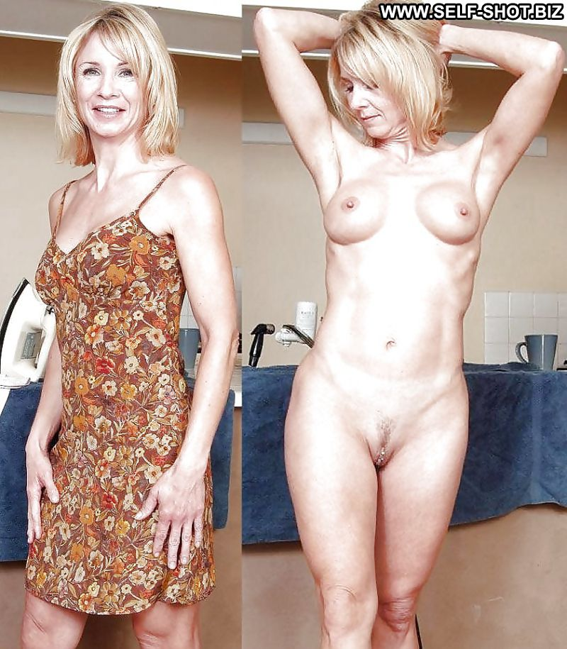 Has short hair wife dressed undressed can not