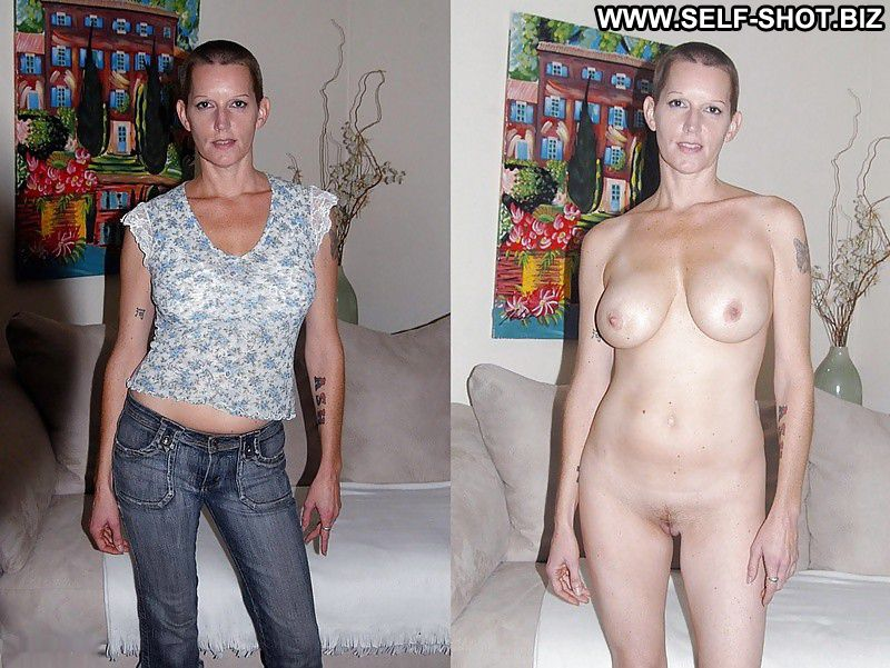 clothed then unclothed older women