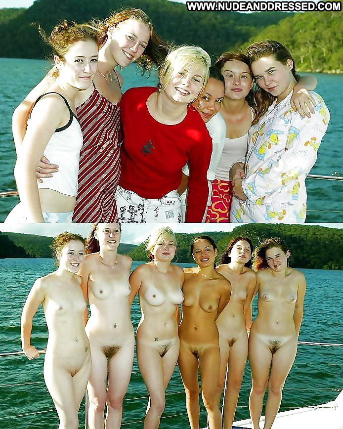 hot group of naked women