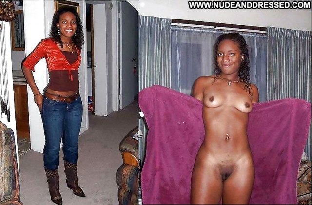 Several Amateurs Ebony Nude Softcore Dressed And Undressed