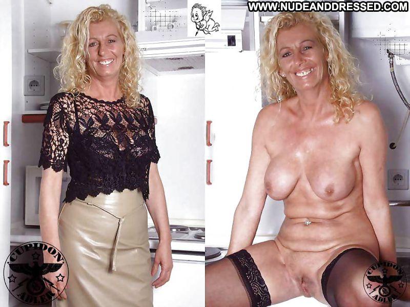 Horny milf undressed