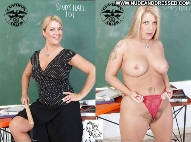 Casey Dressed And Undressed Exhibicionist Teasing Teacher