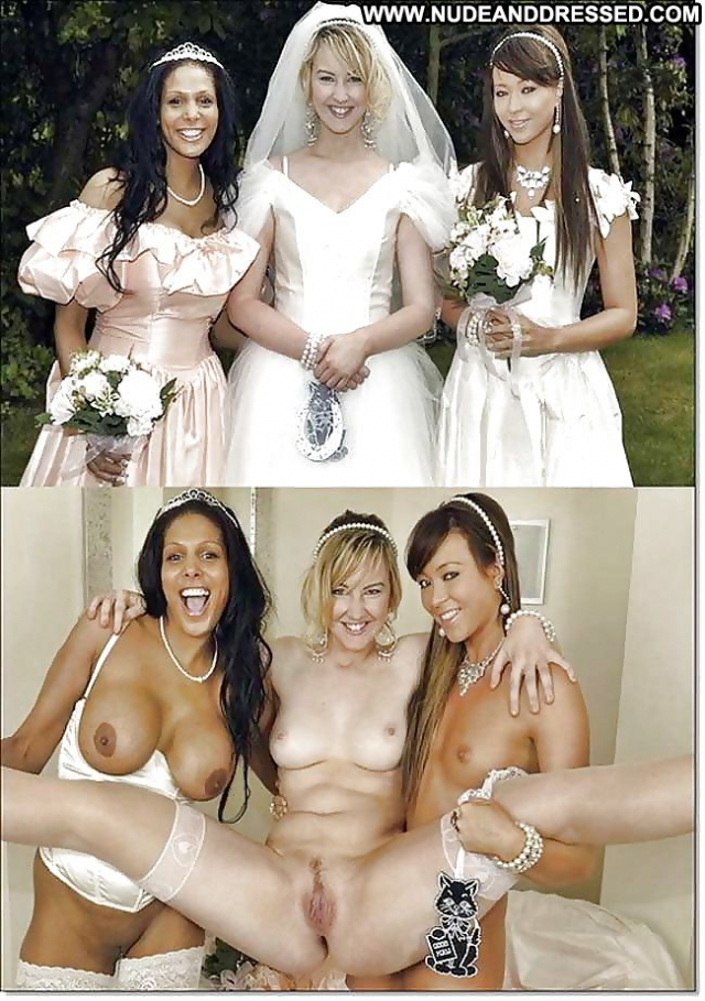 dressed undressed wedding