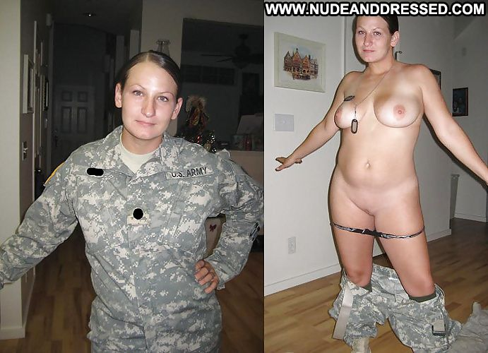 Hot sexy undressed army women have