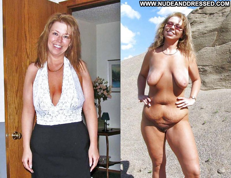 Think, Clothed unclothed big tits milf something